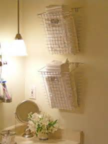 Bathroom Basket Ideas Bathroom Towel Storage 12 Quick Creative Amp Inexpensive Ideas