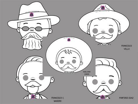 imagenes para trabajar la revolucion mexicana fabulosas mascaras de personajes de la revoluci 243 n mexicana