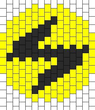 pattern energy k 1 pok 233 mon lightning energy bead pattern peyote bead