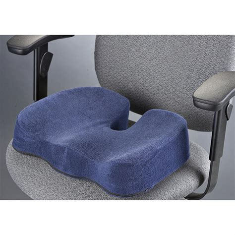 memory foam cushions metro designs ergonomic memory foam seat cushion 435324