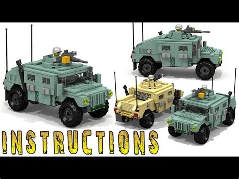 How To Make A Lego Humvee V2 Kotaksurat