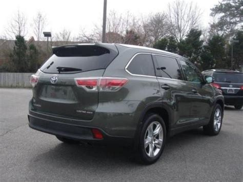 2003 toyota highlander paint colors