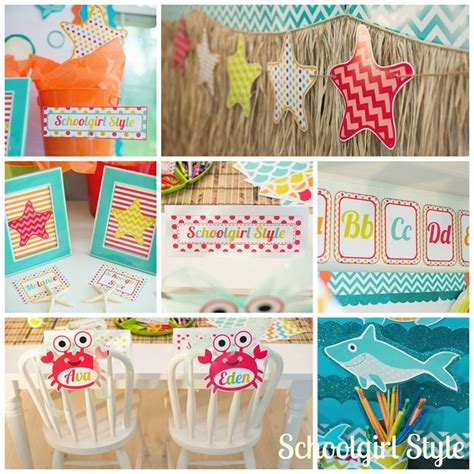 The Sea Classroom Decorations by By The Sea Schoolgirlstyle