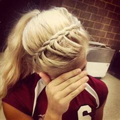 hairstyles for basketball games 1000 images about a c t i v e p o n y t a i l s on