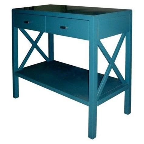 Teal Console Table Threshold X Console Table Teal Home