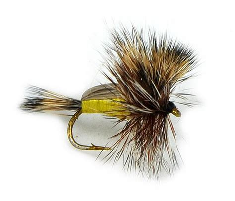 yellow humpy pattern humpy yellow dry fly hi visibility fly stimulator fly for