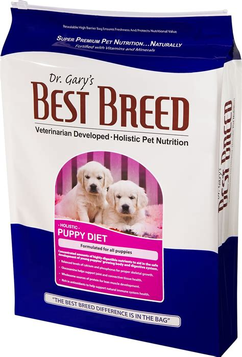 best breed puppy food dr gary s best breed holistic puppy diet food 15 lb bag chewy