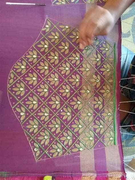 blouse pattern works 778 best aari embroidery images on pinterest blouse