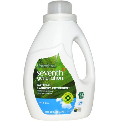 Organic Laundry Soap seventh generation laundry detergent free clear 50 fl oz 1 47 l iherb