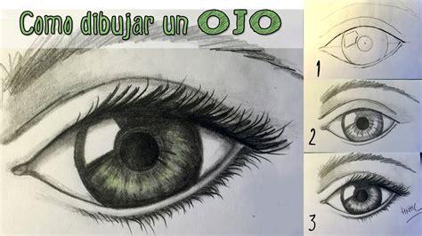 imagenes de ojos faciles de dibujar c 243 mo dibujar un ojo realista aprender a dibujar paso a