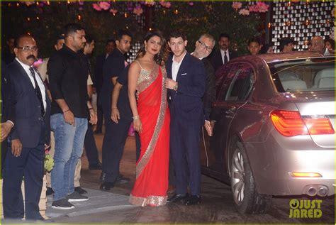 priyanka chopra nick jonas engagement india nick jonas suits up with priyanka chopra at engagement