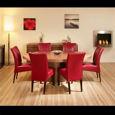 top  red dining table sets dining room ideas