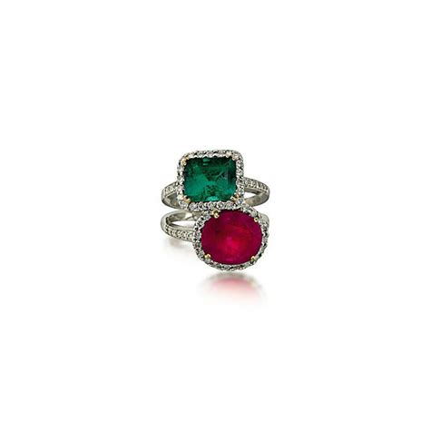 an emerald ruby and ring christie s