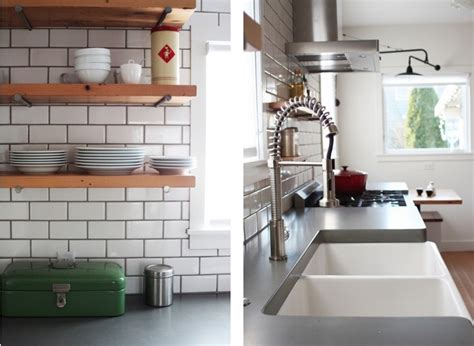 Remodeling 101 Concrete Countertops Remodelista Concrete In Kitchen