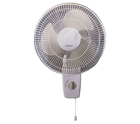 lasko 12 wall mount fan lasko 12 quot oscillating wall mount fan page 1 qvc com