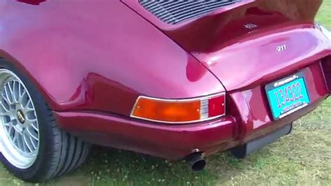 old porsche spoiler classic porsche 911 with bbs wheels and whale tail spoiler