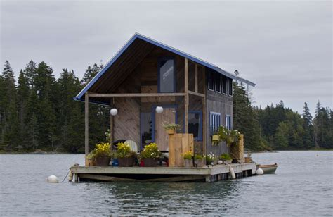 picture of the day a cabin that floats 171 twistedsifter