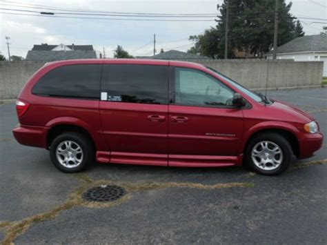 automobile air conditioning service 2001 dodge grand caravan lane departure warning purchase used 2001 dodge grand caravan sport handicap van full power in melvindale michigan