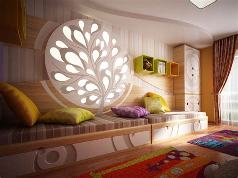Designer Childrens Bedrooms Original Children S Bedroom Design Showcasing Vibrant Colors And Textures Freshome