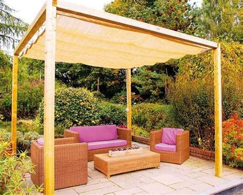 diy backyard patio diy canopies and sun shades for your backyard