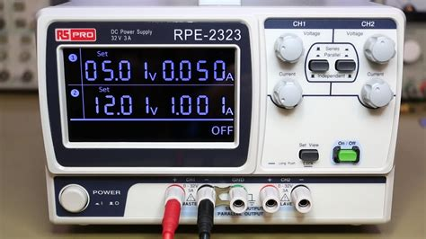 supply reviews rs pro rpe 2323 bench power supply review 019
