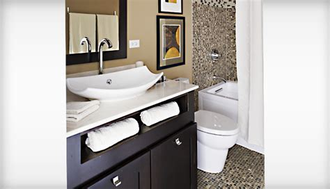 Guest Bath Chicago Remodel Idea Homes Bathroom Ideas & Planning Bathroom KOHLER