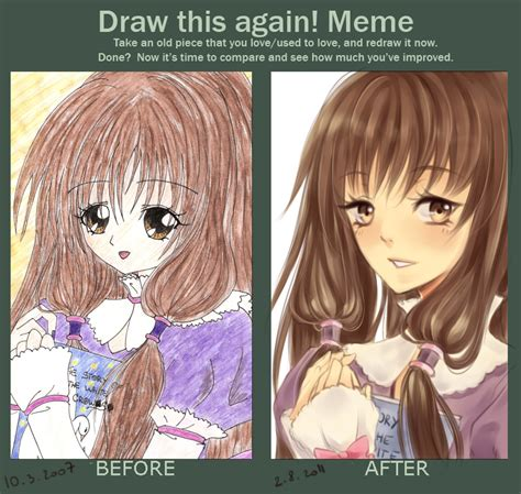 Before And After Meme - before after meme by akiko sama on deviantart