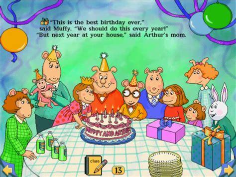 arthur s image arthur s birthday lb page 13 png arthur wiki