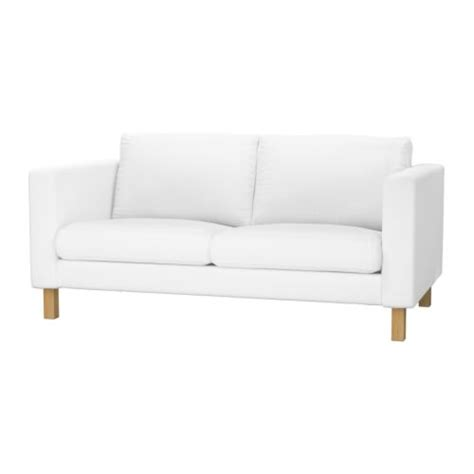 white sofa covers karlstad loveseat blekinge white ikea
