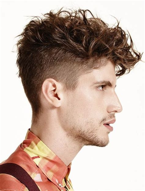 best hair styling techniques for gentlemens haircut best haircuts for curly hair mens men pinterest