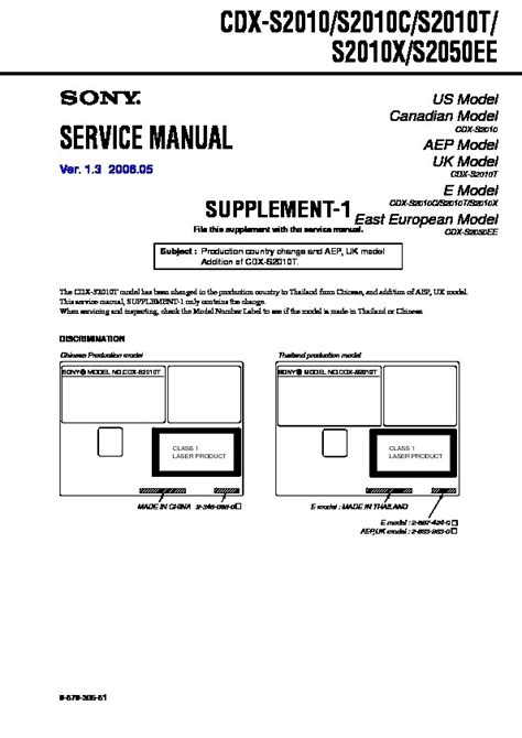 sony cdx s2010 wiring diagram wiring diagram and