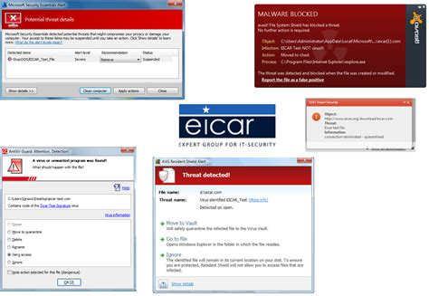 eicar test test if your anti malware suite is enough to protect