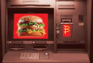 mac machine atm mcdonald s big mac atm machine in boston makes its debut