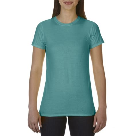 gildan comfort colors cc4200 comfort colors ladies tee seafoam gildan