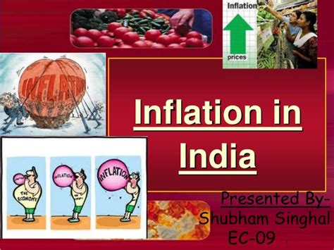 Inflation Ppt In Mba by Inflation In India