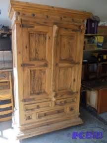 Knotty Pine Armoire by Large Knotty Pine Armoire With Rustic Hardwar New