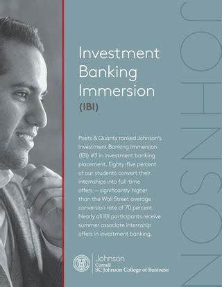 Mba Investment Banking Australia by Johnson At Cornell Two Year Mba Investment Banking