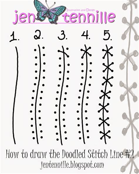 doodle tutorial jen tennille s draw doodle style free tutorial doodle