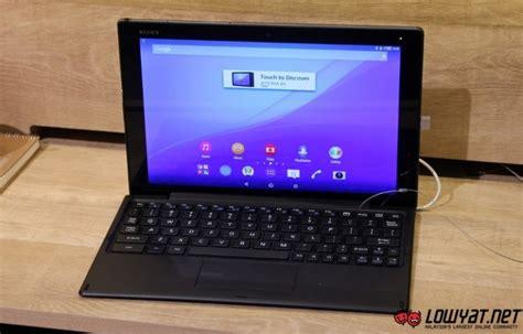 Sony Tablet Z4 Di Malaysia sony xperia z4 tablet arrives in malaysia from rm2 699 lowyat net