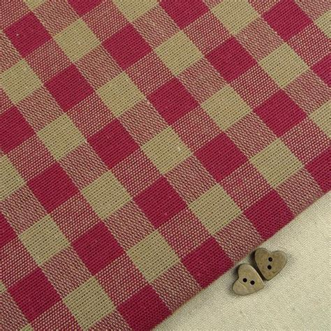 upholstery fabric remnants for sale uk emma gingham raspberry remnant billow fabrics