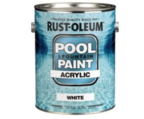 rust oleum 269359 1 gallon acrylic pool and paint aqua at thehardwarecity