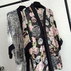 Jual Kimono Handuk Remaja Phb490 cardigan sifon lengan panjang sweater
