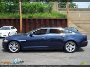 Navy Blue Jaguar 2011 Jaguar Xj Xjl Indigo Metallic Navy Blue