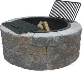 Fire Pit Kit by Scapestone Fire Pit Kit Concrete Patio Pavers Boston