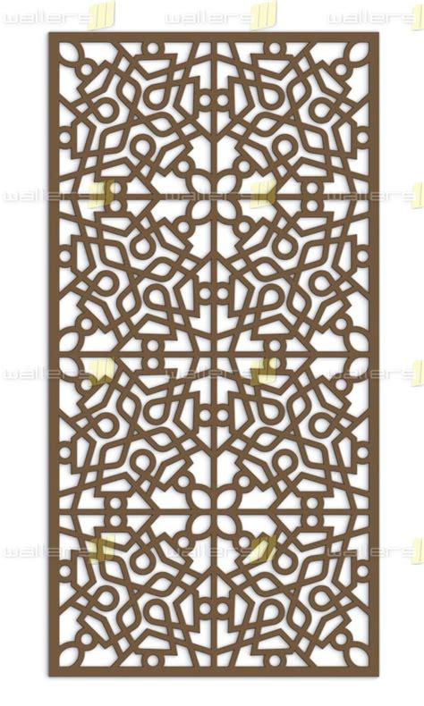Design By Us Fretwork by Wg 011 Islamic V2 Fretwork Mdf Grille Panel