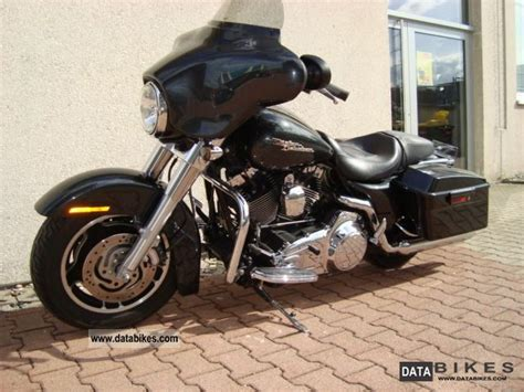 2009 harley davidson glide black pearl special paint