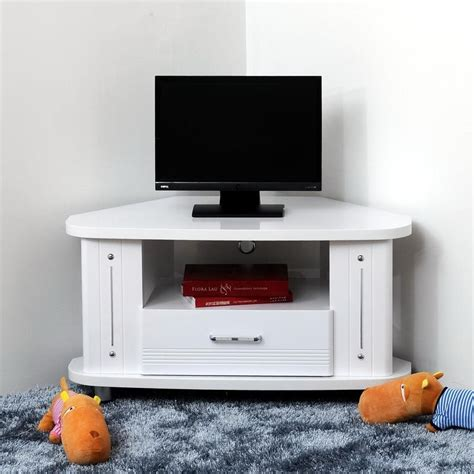 small white tv stand with drawers for bedroom of stylish 20 ideas of white small corner tv stands tv cabinet and