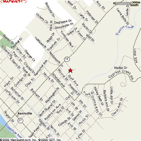 map of kerrville kerrville tx official website location map