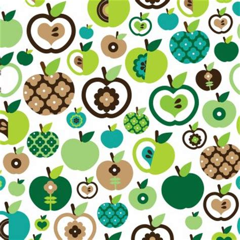 textile pattern design software for mac cute retro green apple fruit pattern for kids or get well