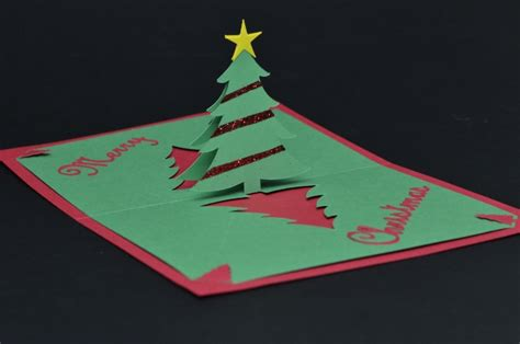 complex pyramid tree pop up card template creativepopupcards creativepopupcards